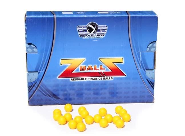 GXG Rubber Reusable Paintballs