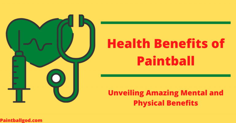 Health Benefits of Paintball