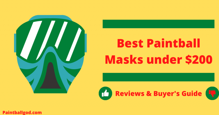 Best Paintball Masks under $200