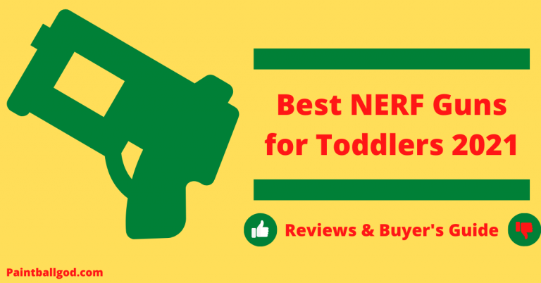 Best Nerf gun for toddlers 2021